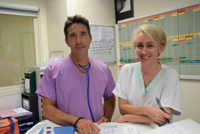 Des pédiatres H24   à la clinique